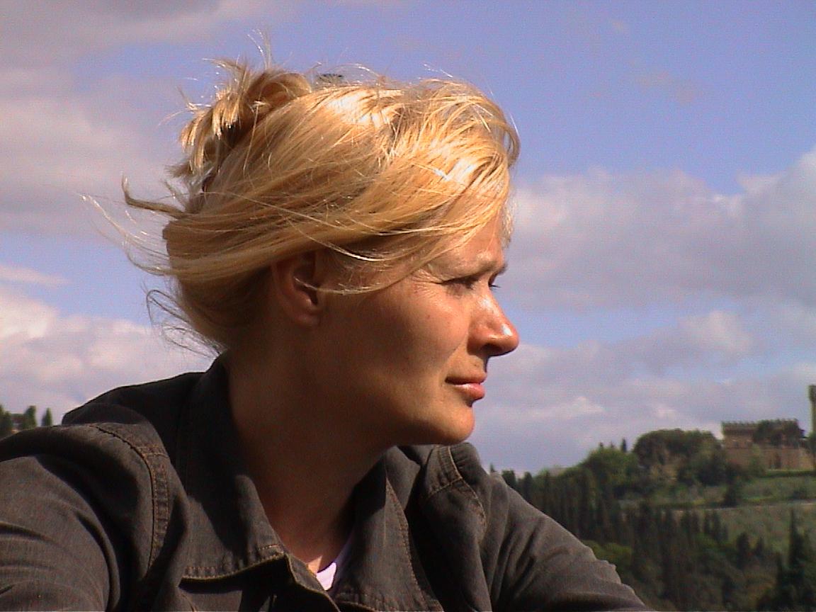 Ilona Lenard in florence