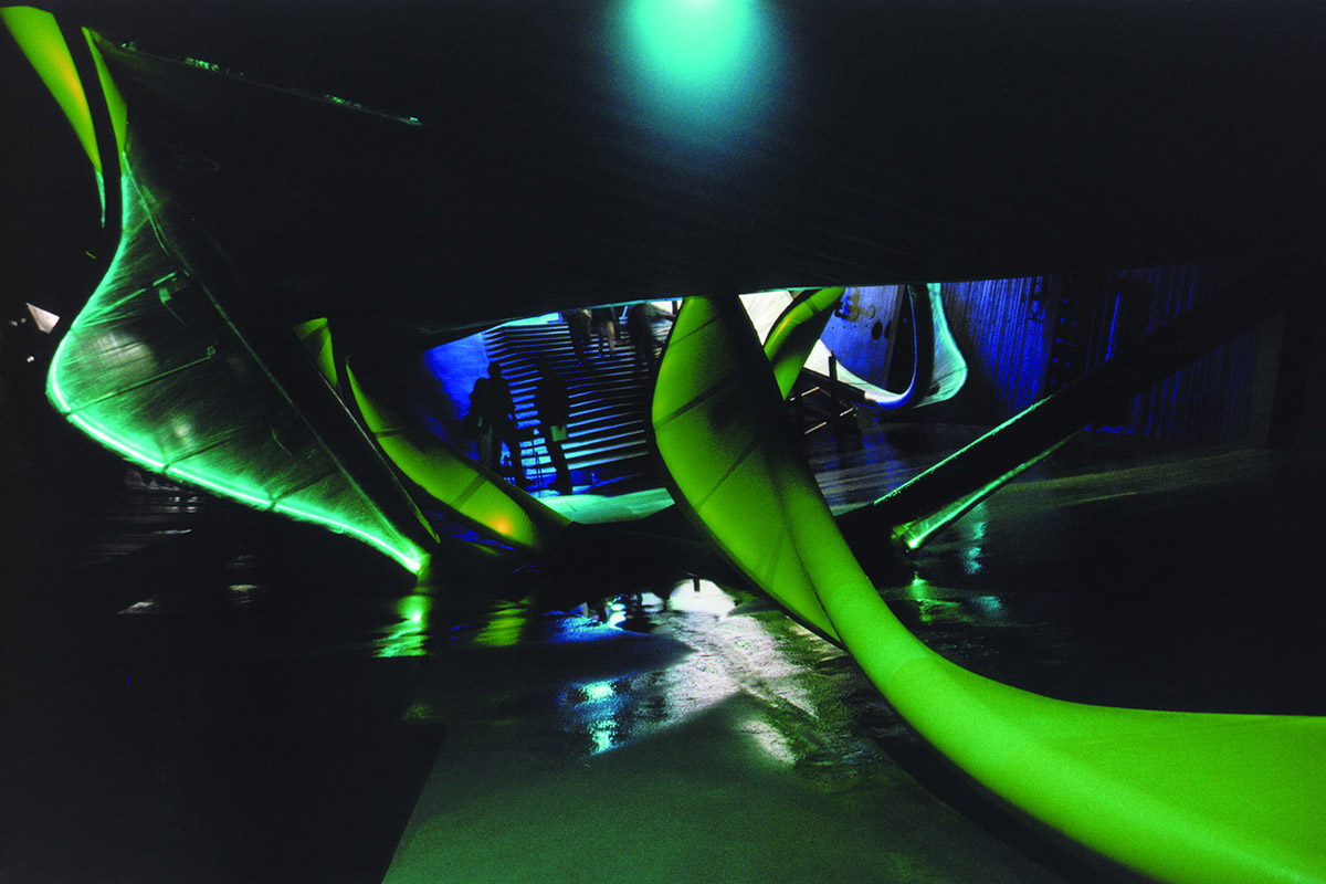 Hydra in underworld of Waterpavilion | Neeltje Jans 1997