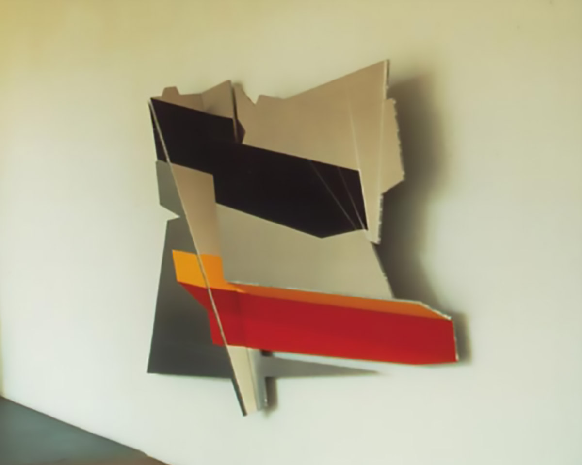 The Flag | acryl on honeycomb aluminium | collection Delftse Studentenhuisvesting | 1989